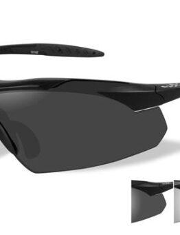 5406dac47d4 WileyX   Vapor   Matte Black Frame   Clear   Grey Lenses   Sunglasses